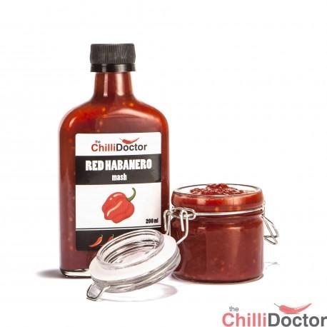 Habanero rosso salsa peperoncino piccante 200 ml