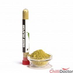 Jalapeno verde polvere peperoncino piccante 10 gr