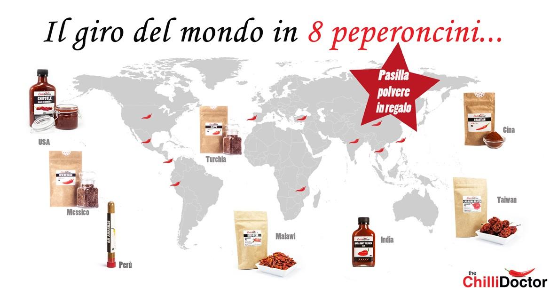 Il giro del mondo in 8 peperoncini piccanti